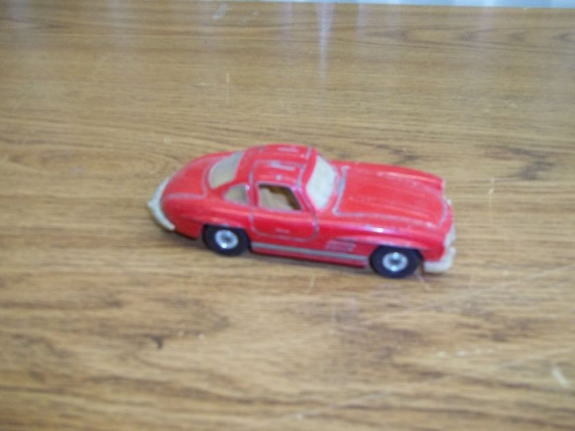 Vintage Corgi Mercedes Benz 300 SL Toy Car for Parts LOOK